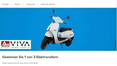 Jetzt AsVIVA-Elektroroller EM2 gewinnen Kaufland Gewinnspiel