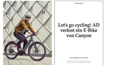 Jetzt E-Bike Precede ON CF9 gewinnen AD-MagazinGewinnspiel