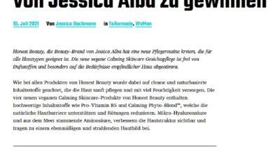 Jetzt Jessica Alba Beauty Set gewinnen fast and luxurious Gewinnspiel