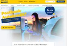 Jetzt Tesla Model 3 Elektroauto gewinnen Postbank Gewinnspiel