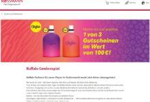 Gewinne einen Buffalo Online Shop Gutschein Rossmann Gewinnspiel