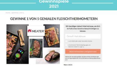 Jetzt MEATER Fleischthermometer gewinnen: LECKER Gewinnspiel