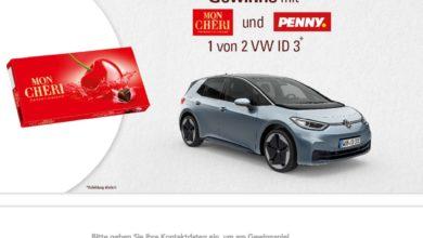 Gewinne ein VW Modell ID 3 Auto Ferrero & PENNY Gewinnspiel
