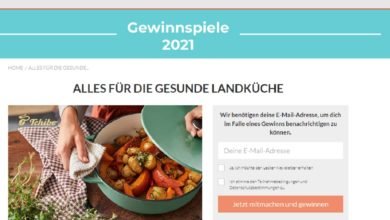 Gewinne einen 100 Euro Tchibo Gutschein LECKER Gewinnspiel