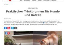 Jetzt PetSafe® Avalon Trinkbrunnen gewinnen: Ein Herz für Tiere Gewinnspiel