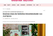 Just Spices Adventskalendern gewinnen Cosmopolitan Gewinnspiel