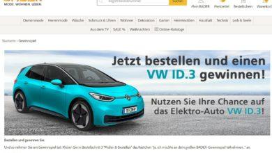 Bader Gewinnspiel Gewinne jetzt ein Elektro-Auto VW ID.3