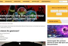 Beyondpixels Gewinnspiel Gewinne ein Metroid Dread Paket