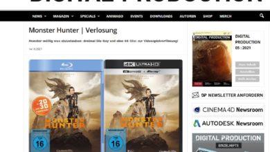 Gewinne Monster Hunter Film Digital Production Gewinnspiel