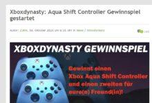 Jetzt Aqua Shift Controller gewinnen Xboxdynasty Gewinnspiel