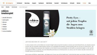 Jetzt cobicos Pretty Eyes Lid-Lifting & Glätte Augencreme gewinnen Müller Gewinnspiel