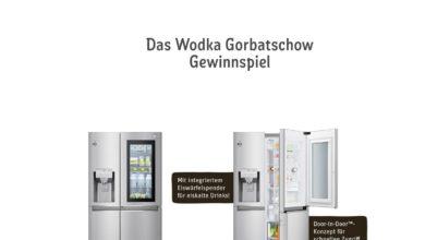 Jetzt teilnehmen und LG Side-by-Side Kühlschrank gewinnen REWE Gewinnspiel