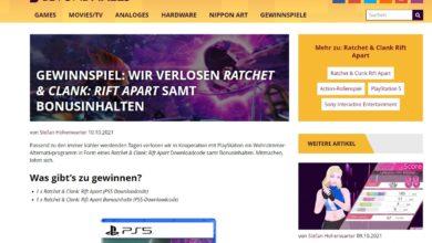 Jetzt teilnehmen und Ratchet & Clank Rift Apart für PS5 gewinnen Beyondpixels Gewinnspiel