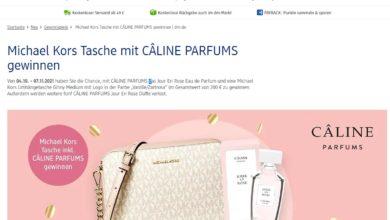 dm Gewinnspiel Gewinne das Jour En Rose von CÂLINE PARFUMS